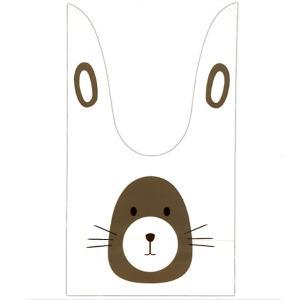 かわいい耳付き袋(小) もぐらうさぎ 50枚入|event-goods