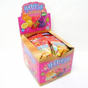 ダイヤモンドリングキャンディー 24個入【駄菓子】|event-goods