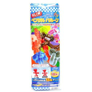 【スリム】ペンシルバルーン 100本入|event-goods