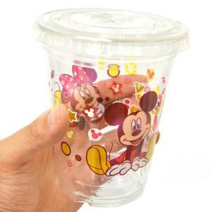 ミッキーミニーPETカップ蓋付 50入|event-goods