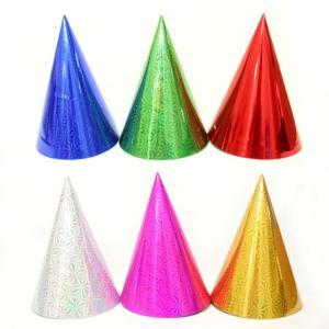 【期間限定特価販売中】【大人・子供兼用サイズ】三角帽子(中)【トンガリ帽子・とんがり帽子】 12個入 event-goods