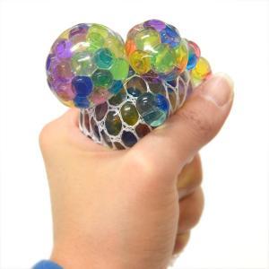 にぎってつぶつぶレインボーボール Lサイズ(新型にぎにぎぶどうボール) 12入|event-goods