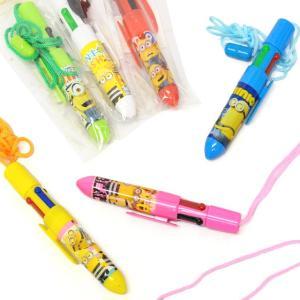 ミニオンズひも付き4色ボールペン 25入 event-goods