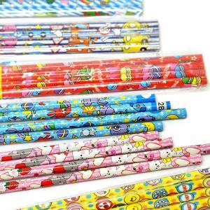 カラフルいろいろ4P鉛筆(2B) 24入|event-goods