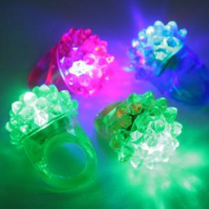 光るフルーツ指輪(光彩フラワーリング) 36入【光る指輪】|event-goods