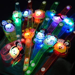 【ブレスレット】ディズニーツムツム光るかわいいダイカットブレスレット 12入|event-goods