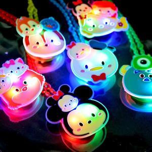 ディズニーツムツムかわいい光るネックレス 12入|event-goods