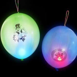 光る特大パンチバルーン(光る風船/光るフーセン) 25入|event-goods