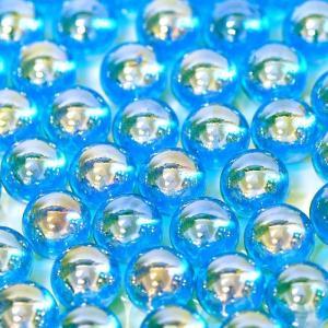 【ビー玉】 12.5mm オーロラカラーマーブル 500入【ブルー】|event-goods