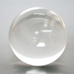【ビー玉】(水晶) クリアー 60mm 1個