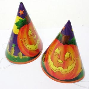 ハロウィン トンガリ帽子(小)【三角帽子・とんがり帽子】 6個入|event-goods