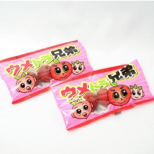 40円 ウメトラ兄弟 20入【1998年 内閣総理大臣賞受賞 駄菓子】|event-goods
