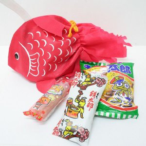 金魚のラッピング袋入り お菓子詰め合わせ 1個|event-goods