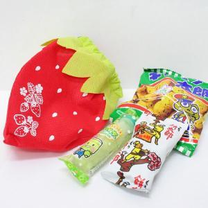 いちごのラッピング袋入り お菓子詰め合わせ 1個|event-goods