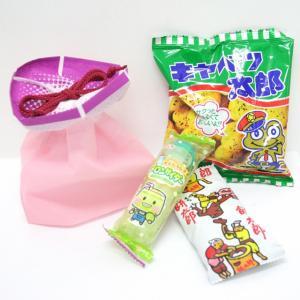 ミニあさがおのラッピング袋入 お菓子詰め合わせ 1個|event-goods