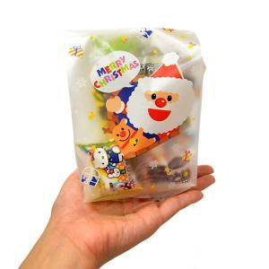 【クリスマス】おもちゃ入菓子詰合せ 半透明おしゃれ袋入 1個|event-goods