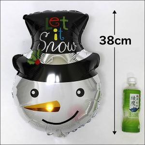 クリスマス風船 スノーマンフェイス 56cm/バルーン 飾り デコレーション/メール便5枚まで可|event-ya