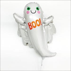 装飾用ハロウィンスティック風船 Boo!ゴースト/ フォトプロップス|event-ya