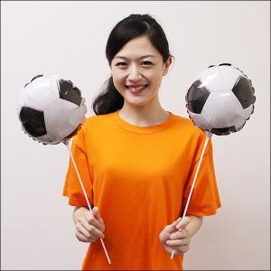 スティック風船 サッカーボール(10本)|event-ya