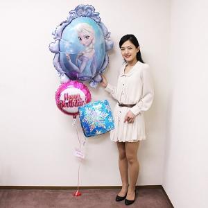 誕生日デコレーションバルーン アナと雪の女王 [動画有]|event-ya