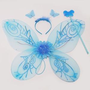 光る妖精の羽根 フラッシュフェアリーセット ブルー event-ya