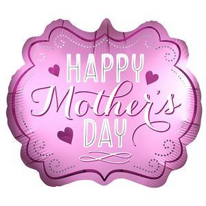 母の日装飾バルーン マザーズデイハートリボン  / 風船・ディスプレイ・装飾・飾り event-ya