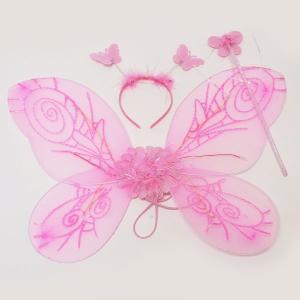光る妖精の羽根 フラッシュフェアリーセット ピンク event-ya