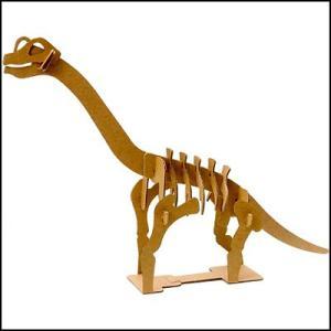ペーパークラフト ダンボール工作 恐竜 ブラキオサウルス(10人用)/メール便可|event-ya