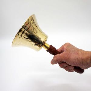 本格的抽選用アタリ鐘 大23cm(洋鈴) / ガラガラ ガラポン 福引 抽選会 [動画有]|event-ya