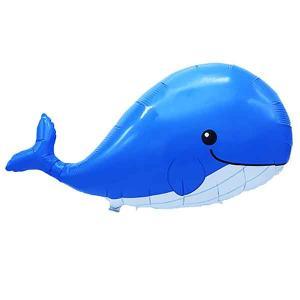 夏の装飾風船 ぷかぷかクジラ W65cm /メール便5枚まで|event-ya