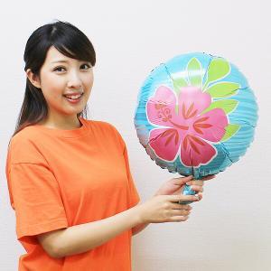 夏の装飾風船 トロピカルフラワー 45cm / バルーン 飾り/メール便5枚まで可|event-ya