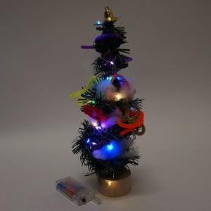 イルミネーションライト付き 手作りクリスマスツリー 10個|event-ya