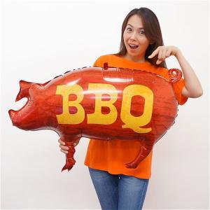 夏の装飾風船 BBQポーク W75cm/メール便可|event-ya
