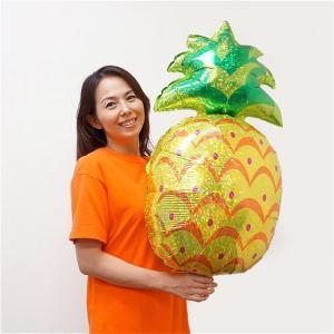 夏の装飾風船 メタリックパイナップル H75cm/メール便可|event-ya
