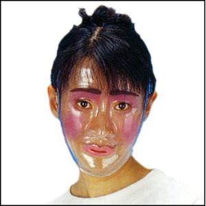 透明フェースお面 女  / マスク・かぶりもの・仮面|event-ya