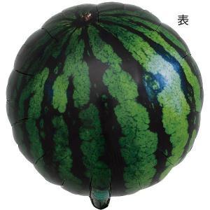 アイブレックスバルーン 果物風船 スイカ 14インチ 5枚 / 装飾 飾り ディスプレイ お店 店舗 フルーツ 売り場 食べ物 /メール便可|event-ya