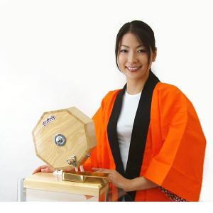 高級 木製ガラポン福引抽選器 500球用 SHINKO製 国産 [玉455球(金・銀玉付)と跳ねにくい赤もうせん受皿付]|event-ya|04