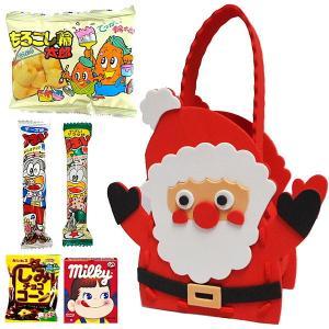 クリスマスバッグ作り お菓子持ち帰りセット サンタ 30名様用|event-ya