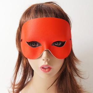 パーティ仮面 赤 / マスク・かぶりもの・お面|event-ya