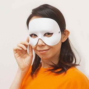 パーティ仮面 白 / マスク・かぶりもの・お面|event-ya