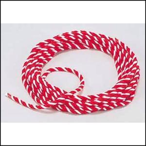 除幕式用紅白ロープ・紅白ひも 直径1cm 長さ5m|event-ya