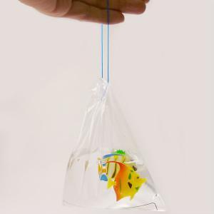 金魚すくい持ち帰り用袋(300枚入り) 一重紐[金魚すくい・スーパーボールすくい]|event-ya