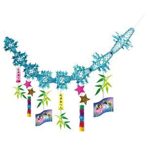 七夕笹飾りガーランド / たなばた 装飾 飾り ディスプレイ|event-ya
