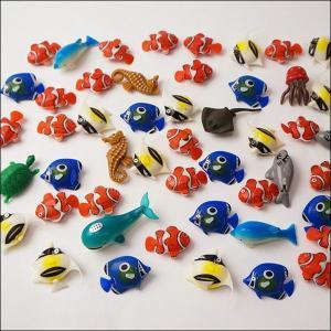 水に浮くすくい用おもちゃ ぷかぷかプラスチックおさかなクマノミとお友達 50個 [動画有]|event-ya