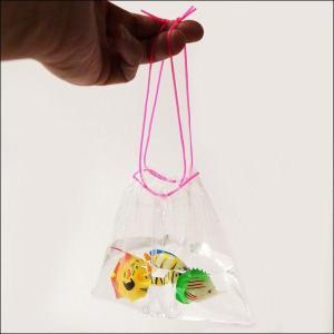 金魚すくい持ち帰り用袋(300枚入り) 二重紐 [金魚すくい・スーパーボールすくい]|event-ya