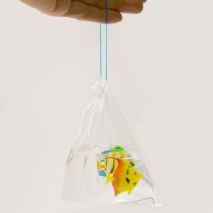 金魚すくい持ち帰り用袋(100枚入り) 一重紐[金魚すくい・スーパーボールすくい]|event-ya