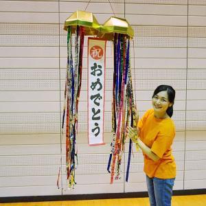 柄長祭禮大うちわ 一文字型 160cm 日本製|event-ya
