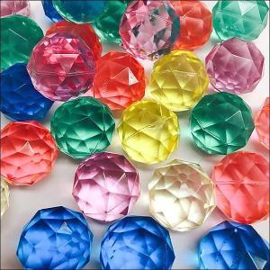 32mm ダイヤモンドスーパーボール(100個)【お祭り景品・すくい景品・ 縁日】|event-ya