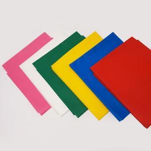 【在庫限り!特価品】不織布 100cm幅×100cm 6色セット(赤・青・黄・緑・白・桃)|event-ya