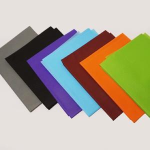 【在庫限り!特価品】不織布 100cm幅×100cm 7色セット(黄緑・橙・茶・水色・紫・黒・灰)|event-ya